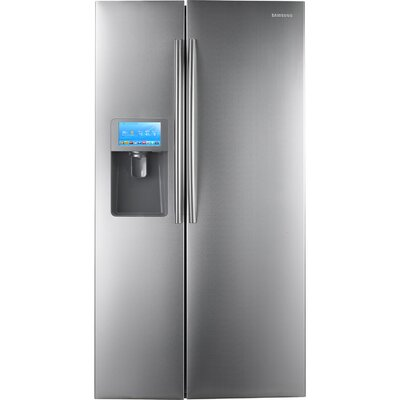 30 Cu. Ft. Side-by-Side Refrigerator with 8