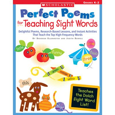 Scholastic Perfect Poems For Teaching Sight