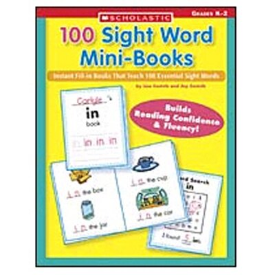 Scholastic 100 Sight Word Mini-books