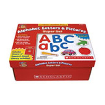 Scholastic Little Red Tool Box Alphabet
