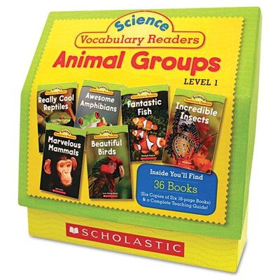 Scholastic Science Vocabulary Readers