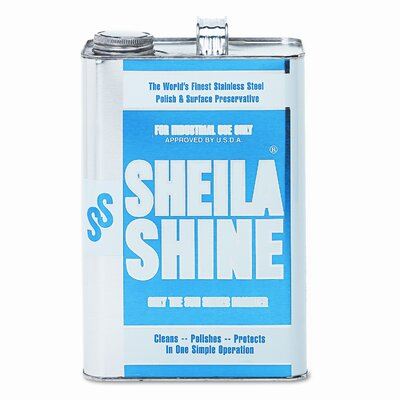 Sheila Shine Stainless Steel Cleaner & Polish Can