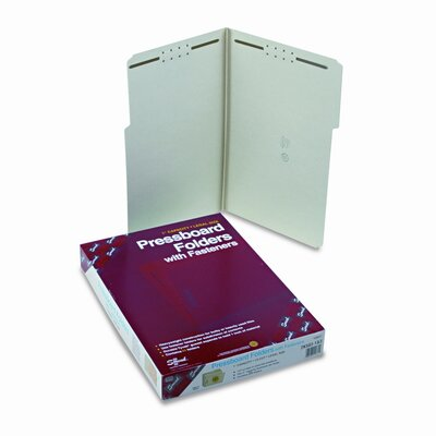 Smead Manufacturing Company 1/3 Top Tab One Inch Expansion Fastener Folder, 25/Box