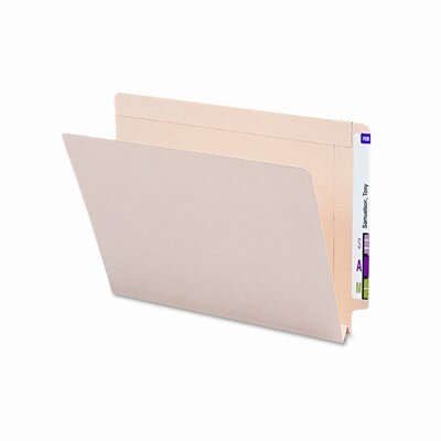 Smead Manufacturing Company Straight End Tab 1 1/2 Inch Expansion Folders, 50/Box