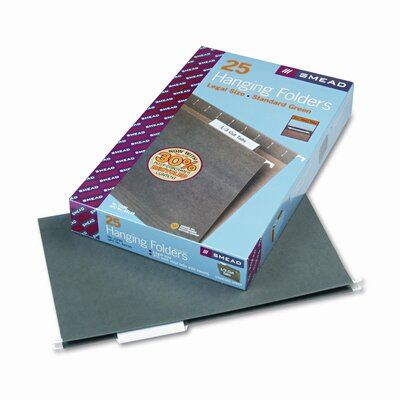 Smead Manufacturing Company 11 Point Stock Hanging Folders, 1/3 Tab, Legal, 25/Box
