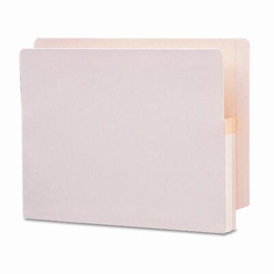 "Smead Manufacturing Company 1.75"" Accordion Expansion End Tab File Pocket, Straight Tab, 25/Box"