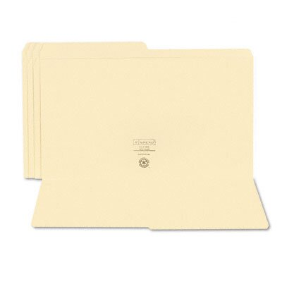 Smead Manufacturing Company File Folders, 1/2 Cut, 100/Box