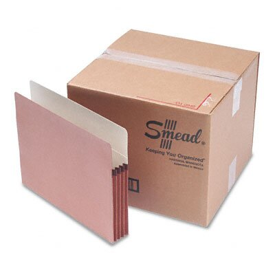 "Smead Manufacturing Company 3.5"" Accordion Expansion File Pocket, 50/Box"