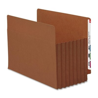 "Smead Manufacturing Company 7"" Accordion Expansion File Tuff Pockets, 5/Box"