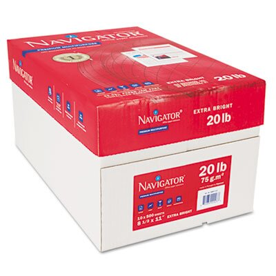 Soporcel North America Premium Office Paper, 97 Brightness, 20lb, Letter, 5,000 Sheets/Carton