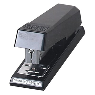 Stanley Bostitch Half Strip Stapler, Standard Type, 105 Capacity, Black