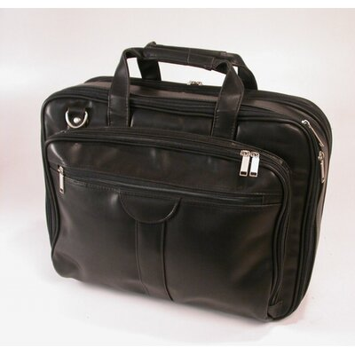 Stebco LLC Deluxe Leather Look Laptop Overnight Case
