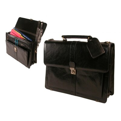 Stebco LLC Structured Flap Over Top Grain Leather Case