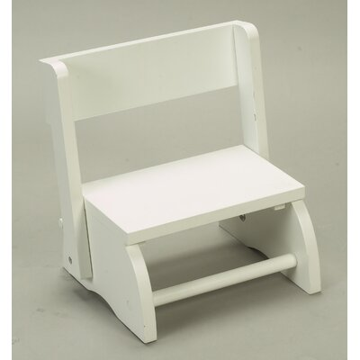 Small Flip Stool and Chair in White