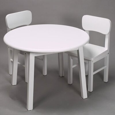 Gift Mark Kids' 3 Piece Table and Chair Set