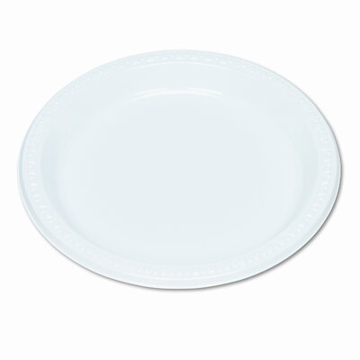 Tablemate Products Plastic Dinnerware / Plates, 125/Pack