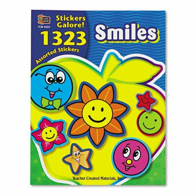 Teacher Created Resources Sticker Book, 1,323/Pack