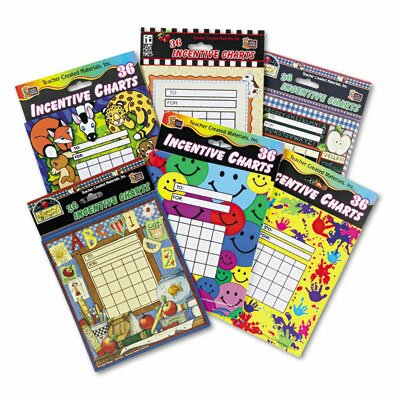 Teacher Created Resources Individual Incentive Charts, 36/Each, 216/Pack
