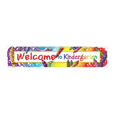 Teacher Created Resources Welcome To Kindergarten Banner