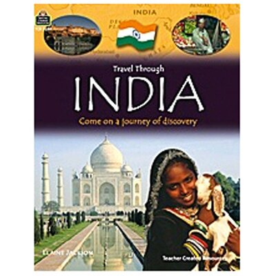 Teacher Created Resources Travel Through India Gr 3up