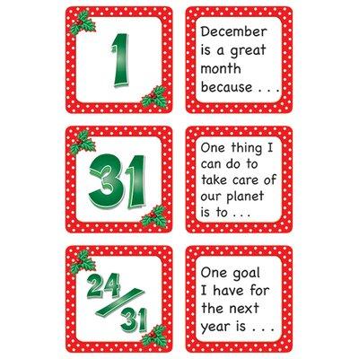 Teacher Created Resources December Polka Dots Calendar Days