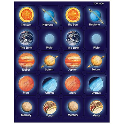 Teacher Created Resources Planets Thematic Stickers