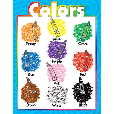 Teacher Created Resources Colors Early Learning Chart