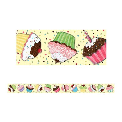Teacher Created Resources Sw Cupcake Straight Border Trim
