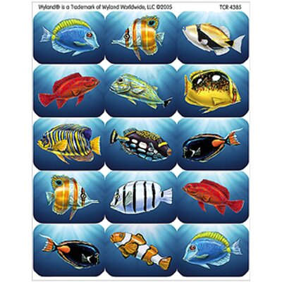 Teacher Created Resources Wy Colorful Fish Stickers