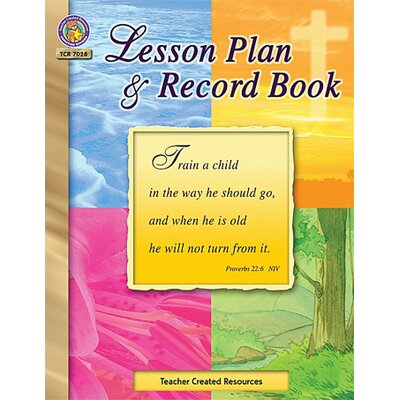 Teacher Created Resources Christian Lesson Plan And Record Bk