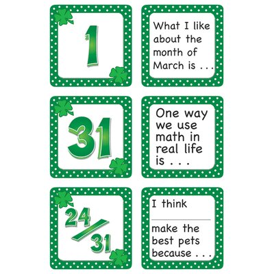 Teacher Created Resources March Polka Dots Calendar Days