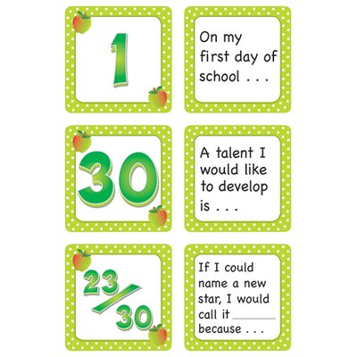 Teacher Created Resources September Polka Dots Calendar Days
