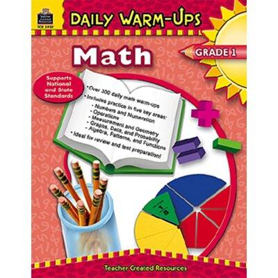 Teacher Created Resources Daily Warm-ups Math Gr 1