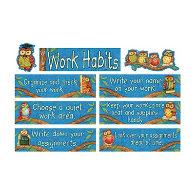 Teacher Created Resources Sw Wise Work Habits Mini Bb Set