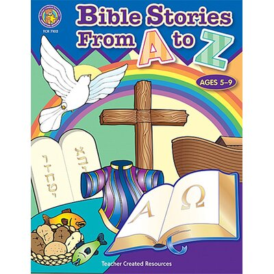 Teacher Created Resources Bible Stories From A-z Activity Bk