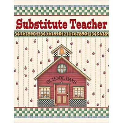 Teacher Created Resources Dm Substitute Teacher Pocket Folder