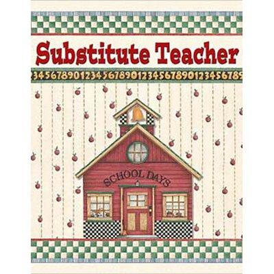 Teacher Created Resources Dm Substitute Teacher Pocket Folder