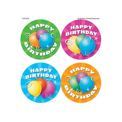 Teacher Created Resources Birthday Wear Em Badges
