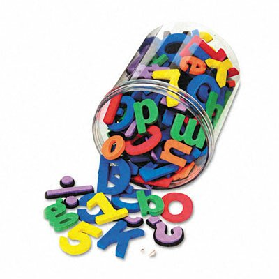 The Chenille Kraft Company Wonderfoam Magnetic Alphabet Letters, 105/Pack