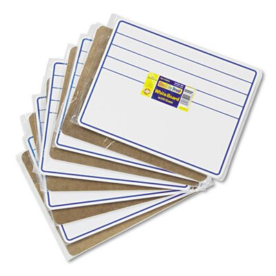 The Chenille Kraft Company Student Dry-Erase Boards, 10/Set