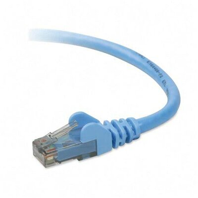 Belkin CAT6 Snagless Patch Cable, 50' L, Blue