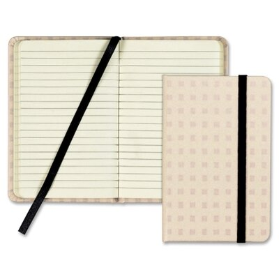 Tops Business Forms Designer Notebook, Tan Cover, Ruled, 5-1/2x3-1/2, Premium Ivory, 96 Sheets