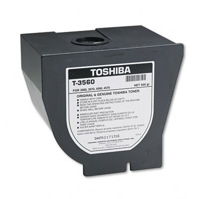 Toshiba T3560 Laser Cartridge, Black                                                                                                 