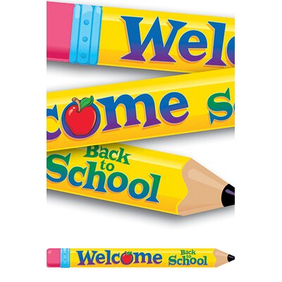 Trend Enterprises Banner Welcome Back To School 10ft