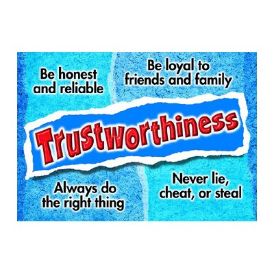 Trend Enterprises Trustworthiness Poster