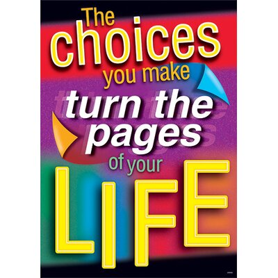 Trend Enterprises The Choices You Make Turn The Pages