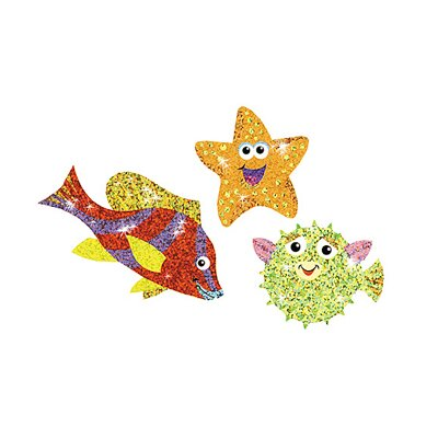 Trend Enterprises Sea Life Sparklers Sparkle Sti