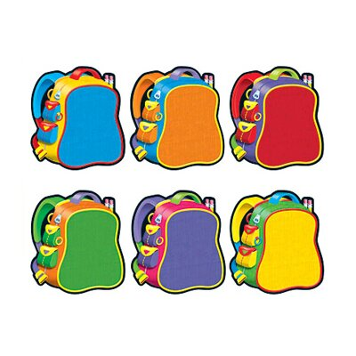 Trend Enterprises Classic Accents Bright Backpacks