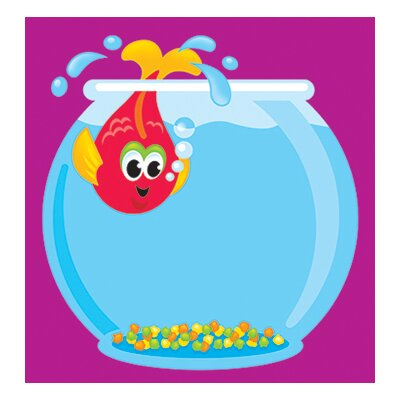 Trend Enterprises Note Pad Fish Bowl 50 Sht 5x5 acid