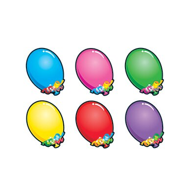Trend Enterprises Bright Balloons Classic Accents